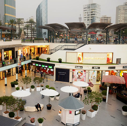 Contador de personas en centros comerciales y aeropuertos | Tecbrain ®